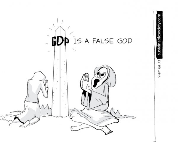 false god of gdp